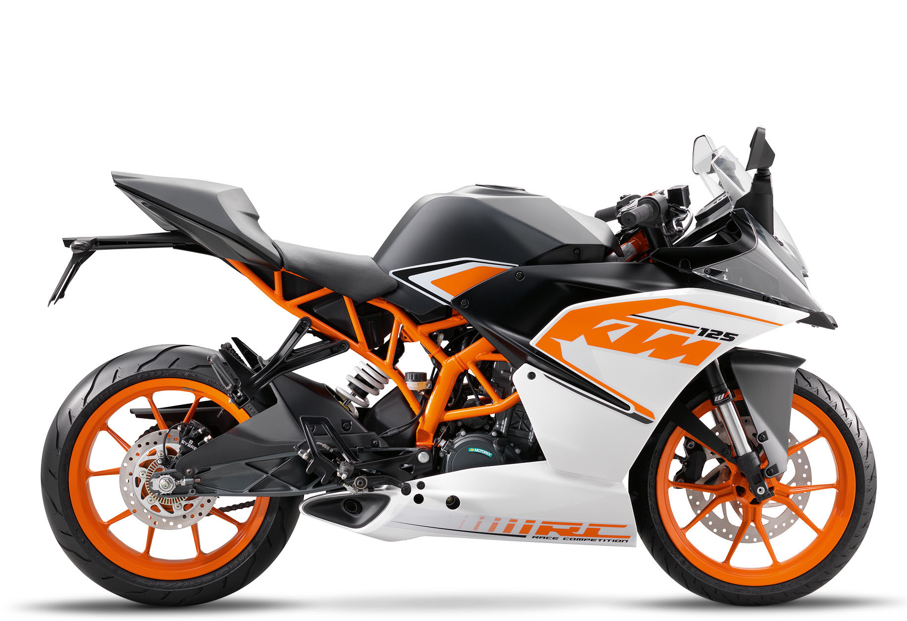 ktm rc 125 2016 trevor pope motorcycles parts spares accessories and more. Black Bedroom Furniture Sets. Home Design Ideas