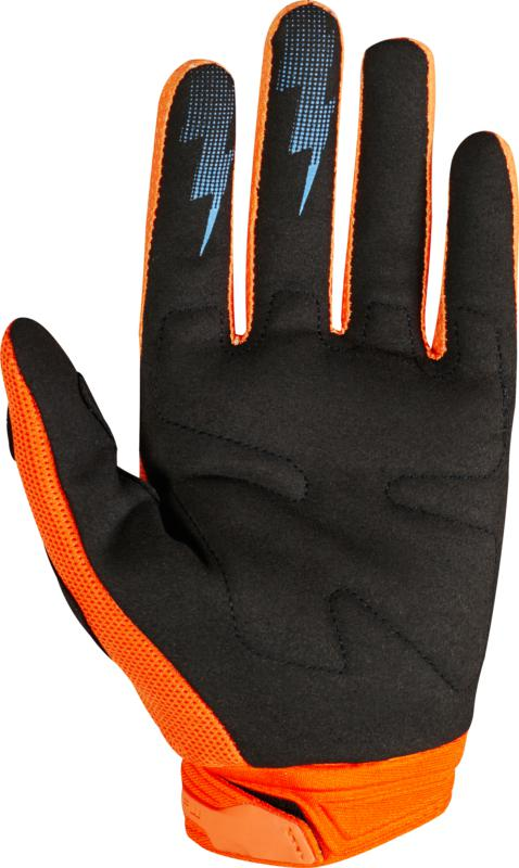 Fox Dirtpaw Glove Org/blk Yxs