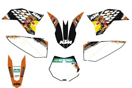 Ktm Factory Graphics Sx50 09