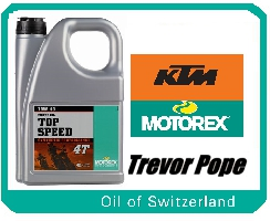 Motorex Top Speed 10/40 4 L