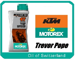 Motorex Top Speed 15/50 1l