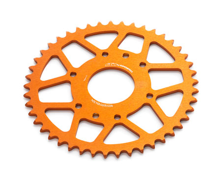 Sprocket Alu 45t 125/200/390