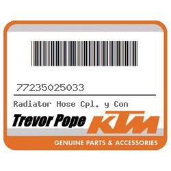 Radiator Hose Cpl +y Con [77235025033] : Trevor Pope Motorcycles