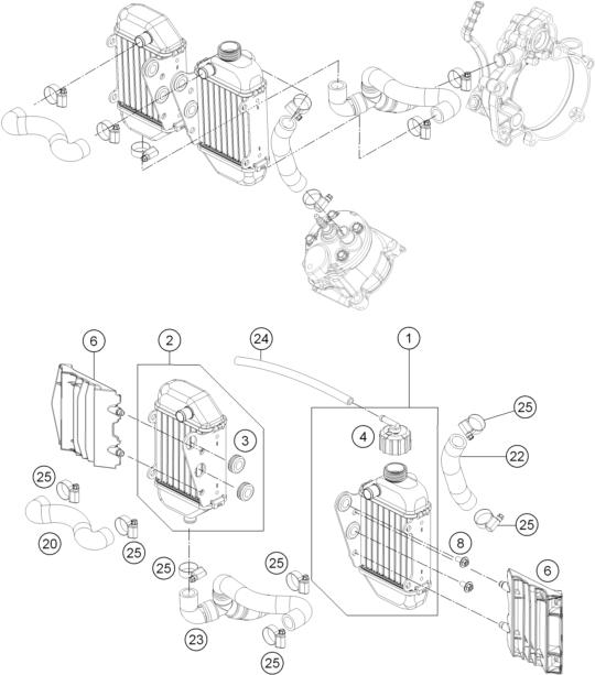 Fiche Id KTM Description Part: KTM Sx 50 Engine Diagram At Hrqsolutions.co