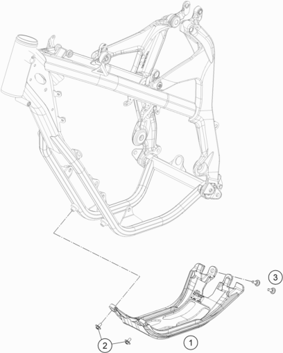 Ktm Fiche Finder Engine Guard Spare Parts For The Ktm Freeride 350