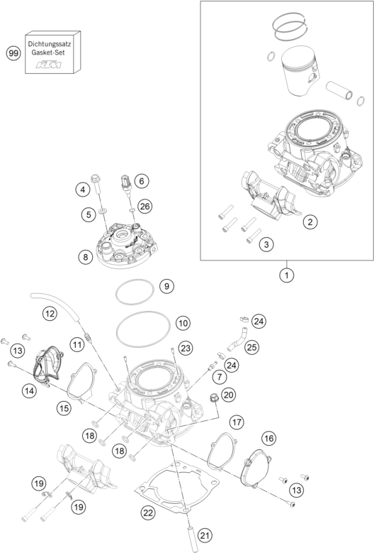 Cylinder Head: Wiring Diagram For KTM 300 Exc At Hrqsolutions.co