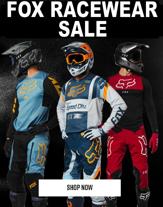 Fox racewear sale