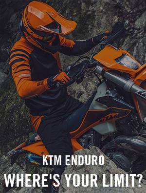 KTM enduro motorcycles